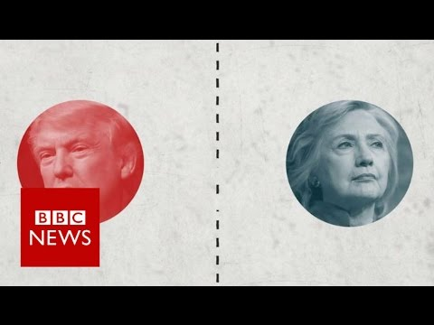 How do Trump and Clinton voters differ? BBC News