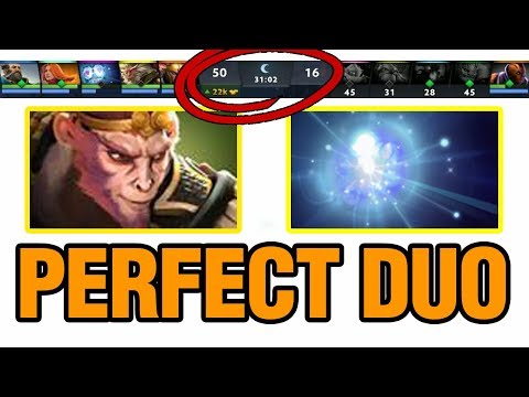 PERFECT DUO - Moo Plays Monkey King - Dota 2