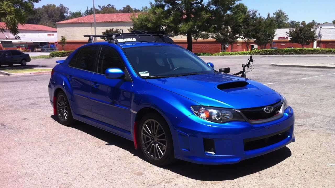 2011 Subaru Wrx Roof Rack Review Youtube