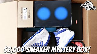 I BOUGHT A $2,000 SNEAKER MYSTERY BOX (Best Ever?)