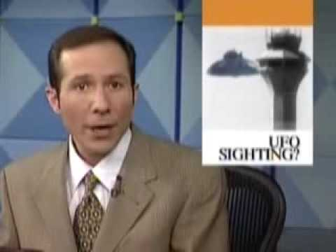 O'Hare UFO Leaked News Footage seconds before Broadcast