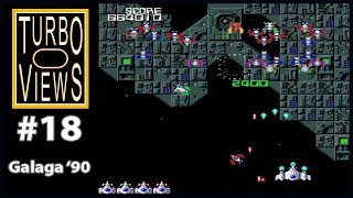 """Galaga '90"" - Turbo Views #18 (TurboGrafx-16 / Duo / Wii game REVIEW!)"