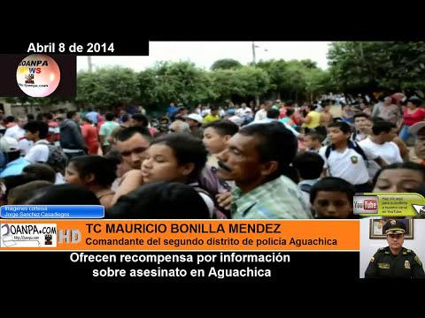Dos jovenes asesinados en Aguachica