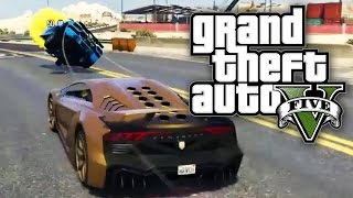 GTA 5 UNLIMITED #8 - VEHICLE VIOLENCE! (GTA V Online)