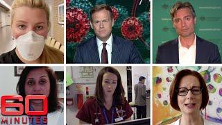Coronavirus crisis: Australia fights COVID-19 pandemic 'together, apart' | 60 Minutes Australia LIVE
