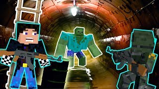 БУНКЕР С ЗОМБИ! ЗАЧИСТКА БУНКЕРА! ДЕНЬ 22. ЗОМБИ АПОКАЛИПСИС В МАЙНКРАФТ! - (Сериал - Minecraft)