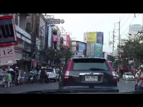 Sukhumvit Road & Thonglor Road, Bangkok, Thailand 27/Feb/2014 バンコクのスクムウィット通りとトンロー通り