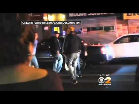 Nypd Investigating After Video Shows Pregnant Woman Thrown To The Ground By Police video