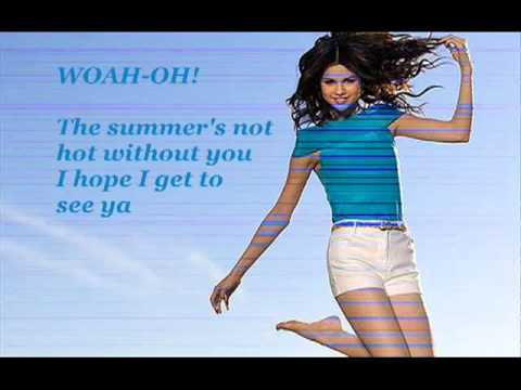 Selena Gomez - Summer's Not Hot - Lyric Video video