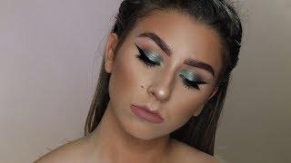Green and Golden Makeup Tut | Zendaya MTV 2017 Movie & TV Award Show Inspired