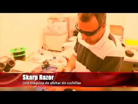 Una Máquina De Afeitar Sin Cuchillas Y Un Gadget Que Detecta El Gluten
