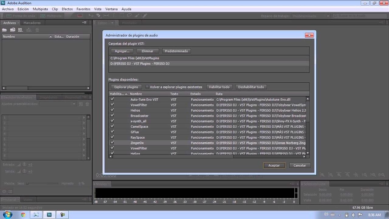 Плагин Waves Для Adobe Audition 1.5