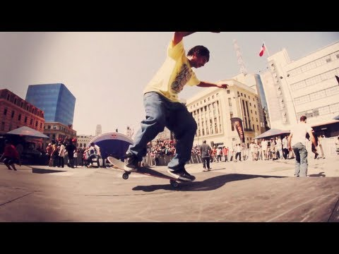 Skateboard Manual Competition In Chile, Manny Mania Qualifiers 2012