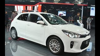 New KIA Rio Hatchback 2018 (T-GDI) Exterior and Interior