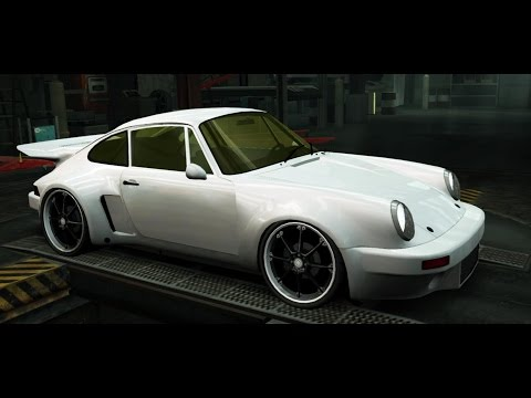 NFS World Porsche 911 RSR 3.0, VERY FAST TEST DRIVE, 8 MINUTES VIDEO WITH MUSIC !