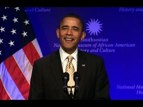 President Obama Speaks at the National Museum of African American History and Culture Groundbreaking