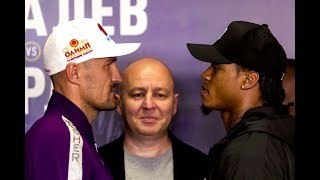 THE LIONS ARE IN RUSSIA! - SERGEY KOVALEV & ANTHONY YARDE COME FACE-TO-FACE FOR THE FIRST TIME