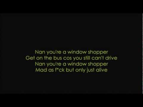 Lily Allen-Nan You&#039;re A Window Shopper lyrics