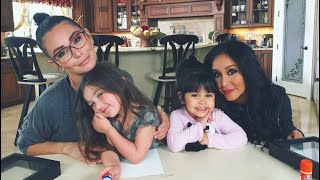 SNOOKI AND JWOWW BEHIND THE SCENES OF MOM