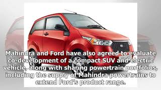 14 Mahindra, ford sign mou to co develop suvs and a small electric vehicle   new cars news 2018
