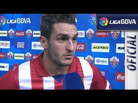 Entrevista a Koke tras el Elche CF (0-2) Atlético de Madrid - HD