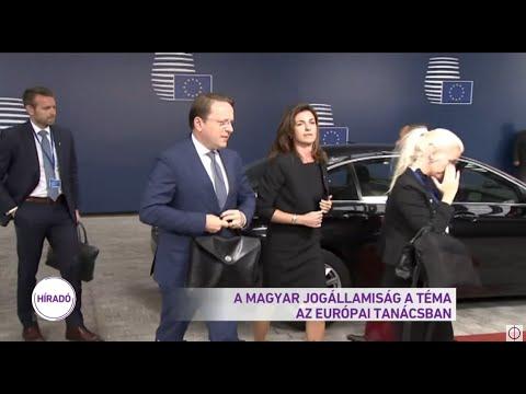A magyar jogállamiság a téma az Európai Tanácsban