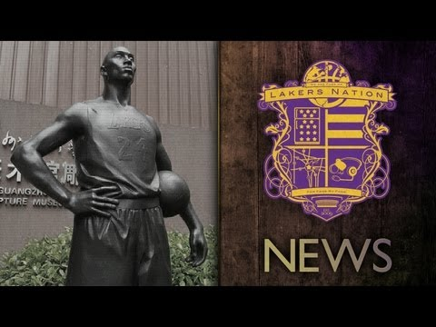 Lakers News: Kobe Bryant Has Statue In China - Photos