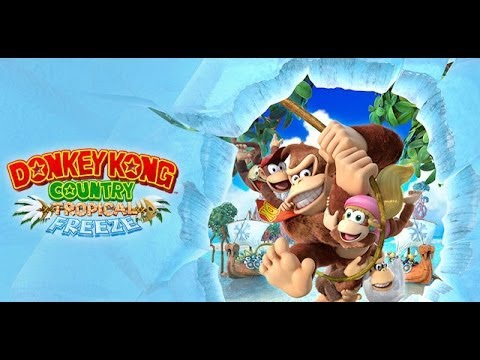 donkey kong country tropical freeze (Je découvre)