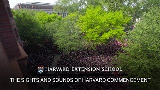 The Sights and Sounds of Harvard Commencement