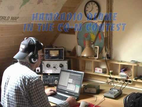 Hamradio DL4ME in the CQ-M contest 2010