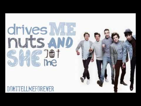 One Direction - Just Can't Let Her Go [BEST LYRIC VIDEO - demo version] HD
