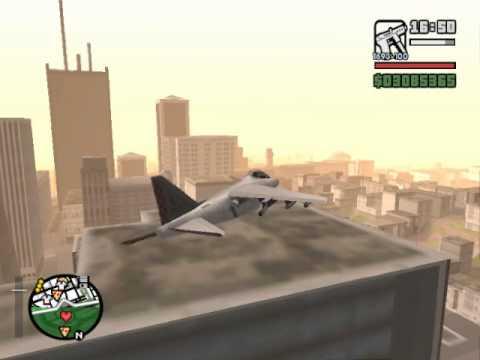 Como pilotar un Hydra - GTA SA PC