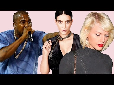 Kanye West Responds To Taylor Swift & Kim Kardashian Snapchat Drama!