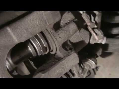 Ford Flex rear brake caliper tool and install tip