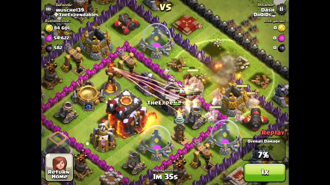 Clash of Clans - Inferno tower update - YouTube