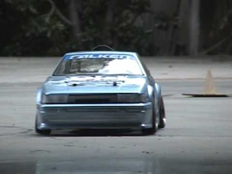 Team D-Style Counter-steer Rc Drifting Levin AE86- Myx CS Drift Day