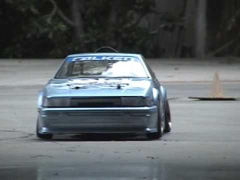 Team D-Style Counter-steer Rc Drifting Levin AE86- Myx CS Drift Day