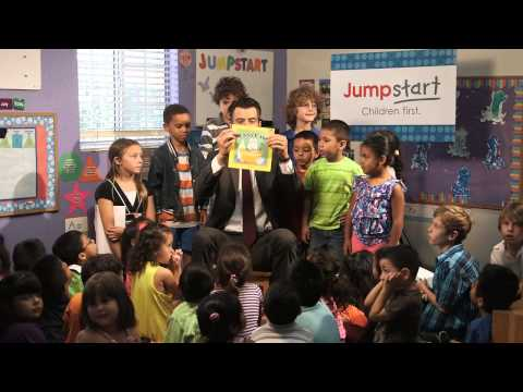 Jumpstart's Read for the Record PSA with Josh Duhamel