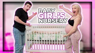 Revealing Our Daughter's Nursery!!