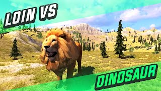 Lion vs Dinosaur Fighting (Extended version)