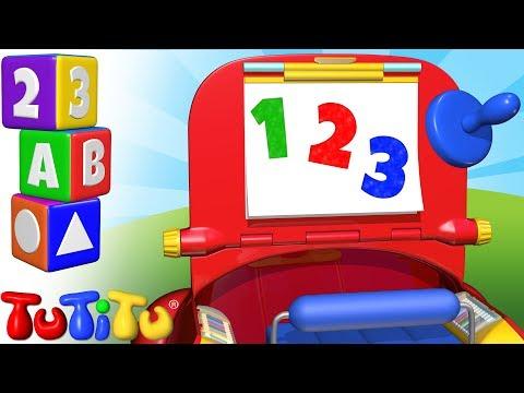Nauka Liczb Po Angielsku | Policz Do 10 | 123 Zestaw Do Rysowania | TuTiTu Przedszkole
