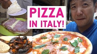 PIZZA & SEAFOOD: My Days In VENICE Italy