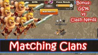 How To Arrange War Matches + GS96 vs Clash Nerds Fresh Th9 Attacks