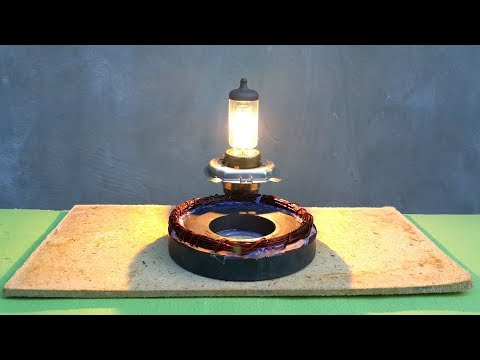 Free energy light bulb using magnet thumbnail
