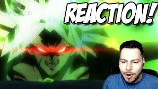 Dragon Ball Super: BROLY Movie Trailer REACTION!