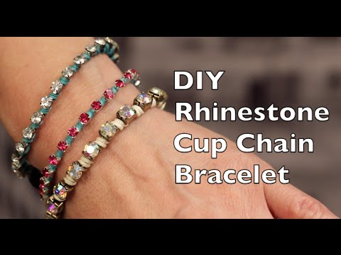 Instructions Rhinestone Cup Chain Ring
