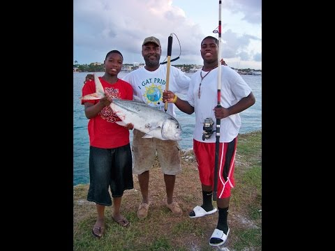 24lb Jack fishing in the Bahamas