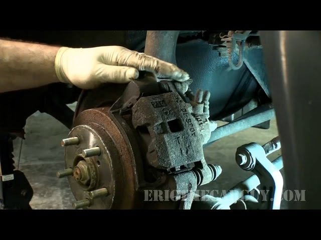 How to Spot and Service a Stuck Rear Caliper - EricTheCarGuy