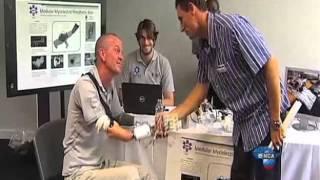 eTV news   30 october 2013   Students design working mechanical prosthetics