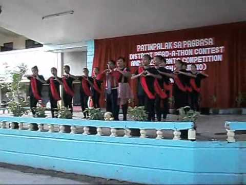 San Isidro Elementary Jazz Chant Winning Piece video